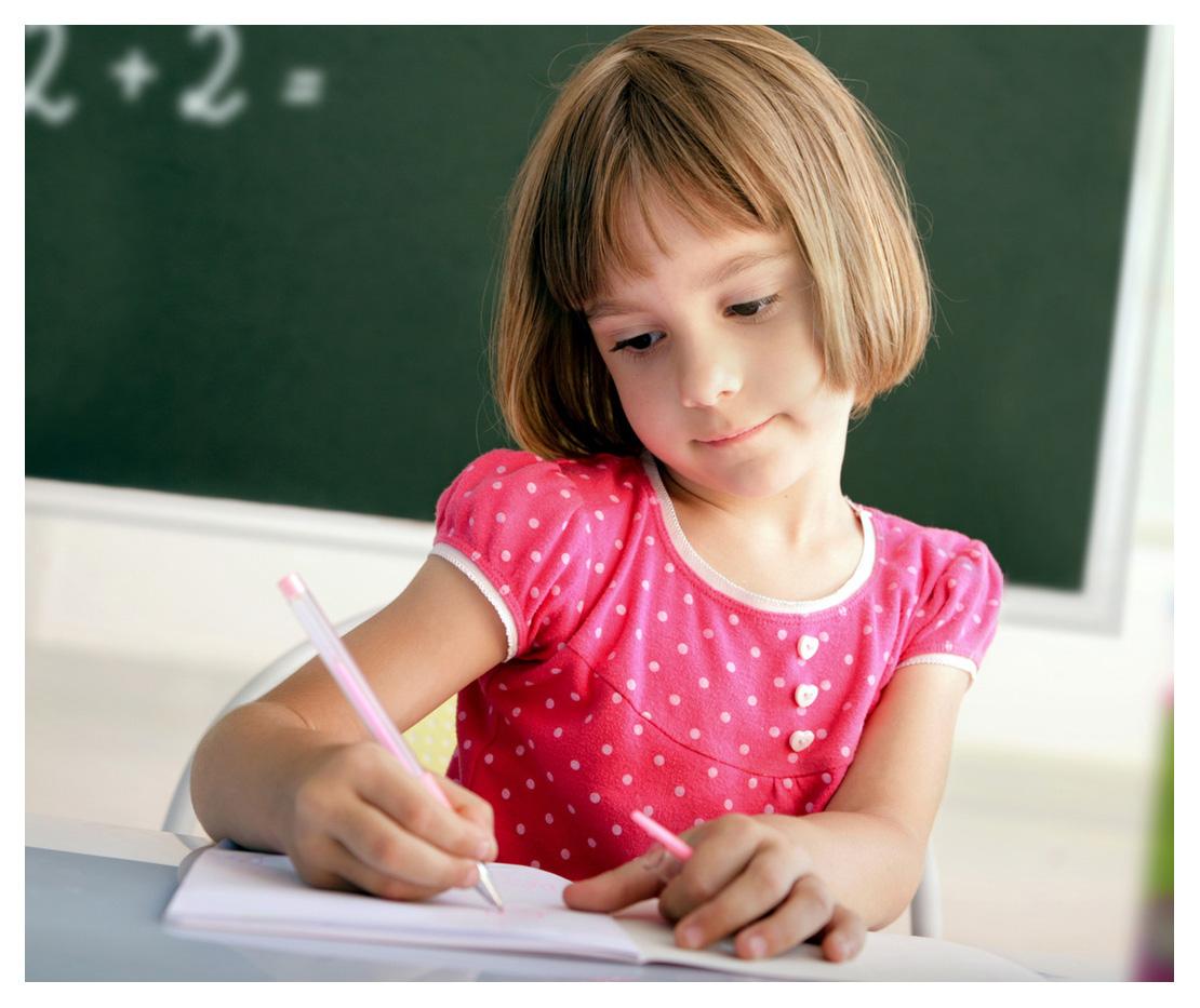 Фото где дети пишут
